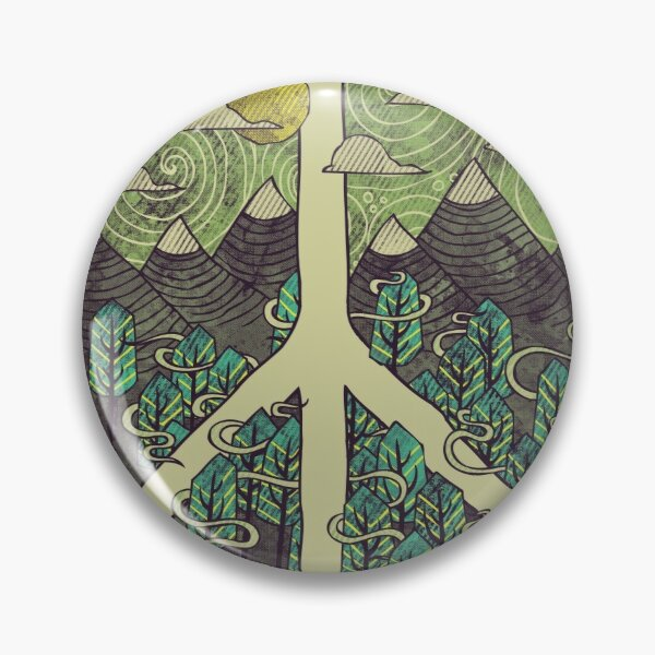 Peaceful Landscape Pin