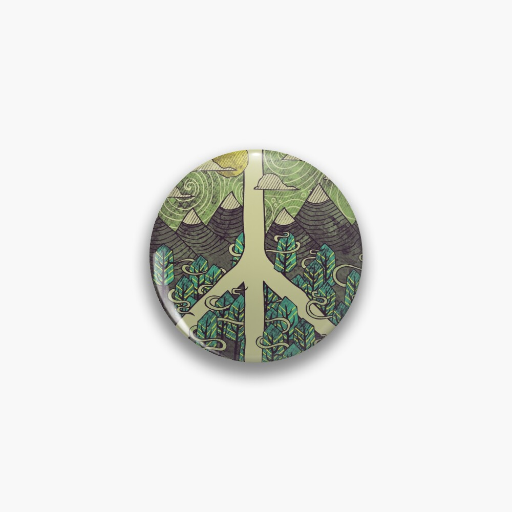 Peaceful Landscape Pin