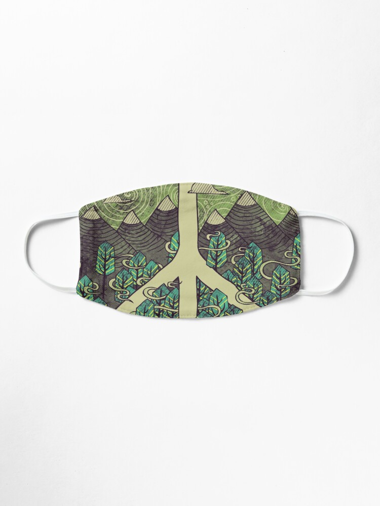Alternate view of Peaceful Landscape Mask