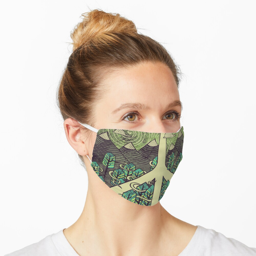 Peaceful Landscape Mask