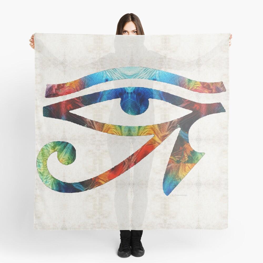 Eye of Horus - By Sharon Cummings Scarf