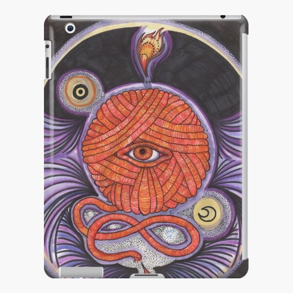 KNITCROMANCY: Unraveling the Cosmic Yarn iPad Snap Case