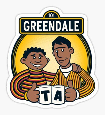 Greendale Street  Sticker