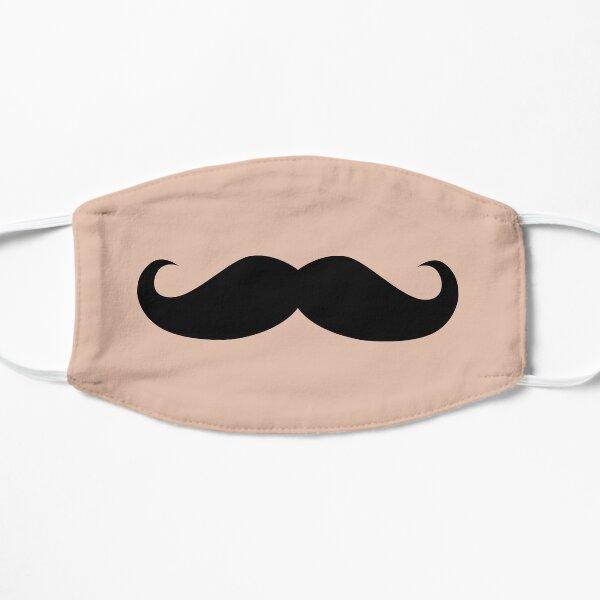 Funny Mustache Flat Mask