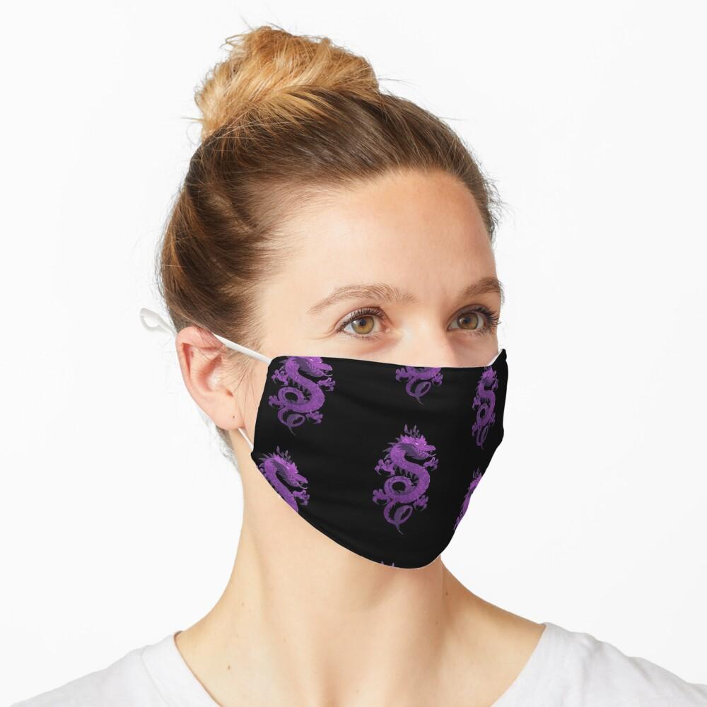 Purple Dragons Mask