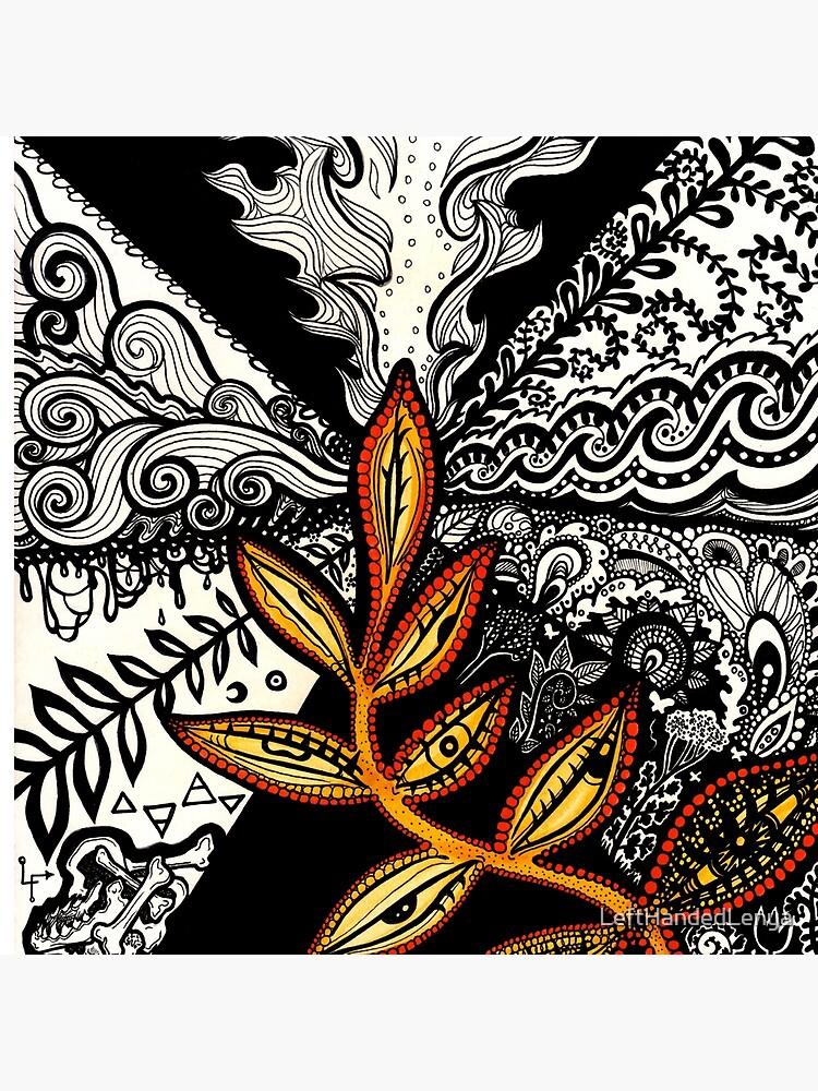 Black to Gold (some seek, some dissolve) by LeftHandedLenya