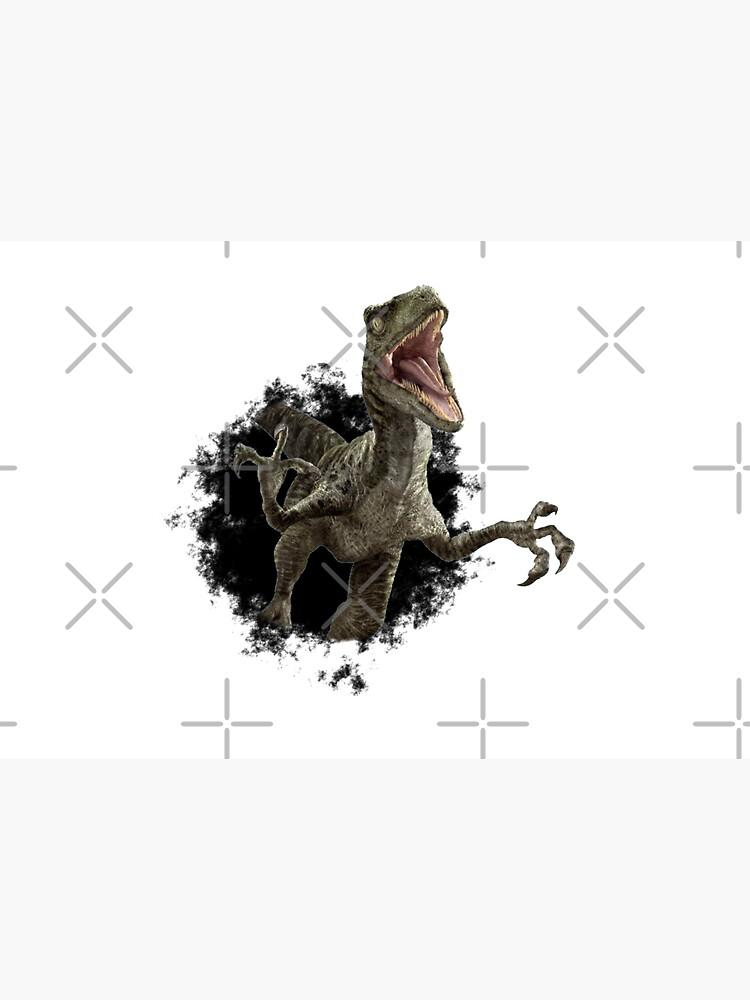 Raptor Dinosaur Velociraptor Hole by ColorFlowArt