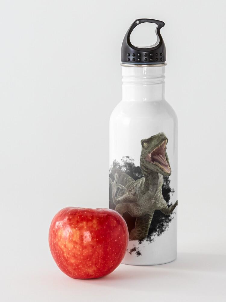 Alternate view of Raptor Dinosaur Velociraptor Hole Water Bottle