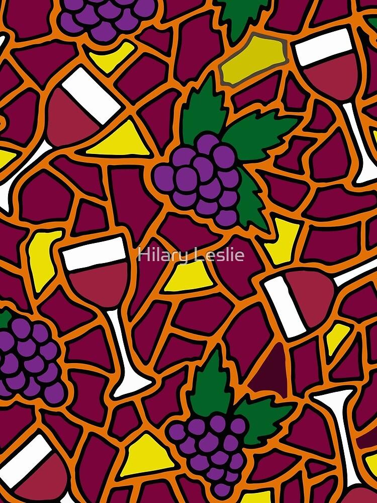 Wine Time || Happy Hour || Mosaic  by hennabyhilary