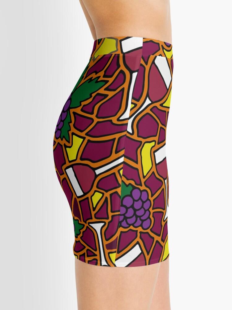 Alternate view of Wine Time || Happy Hour || Mosaic  Mini Skirt