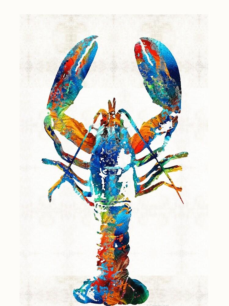 Colorful Lobster Art by Sharon Cummings by SharonCummings