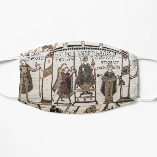 Coronation of Harold (Bayeux Tapestry) Mask