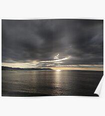 Dramatic Sunset - Dramatica Puesta del Sol Poster