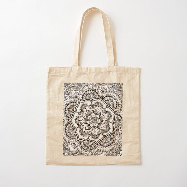 Spring Lotus  Cotton Tote Bag