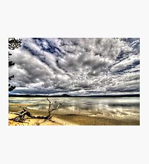 5 Mile Beach - Hobart - Tasmania  Photographic Print