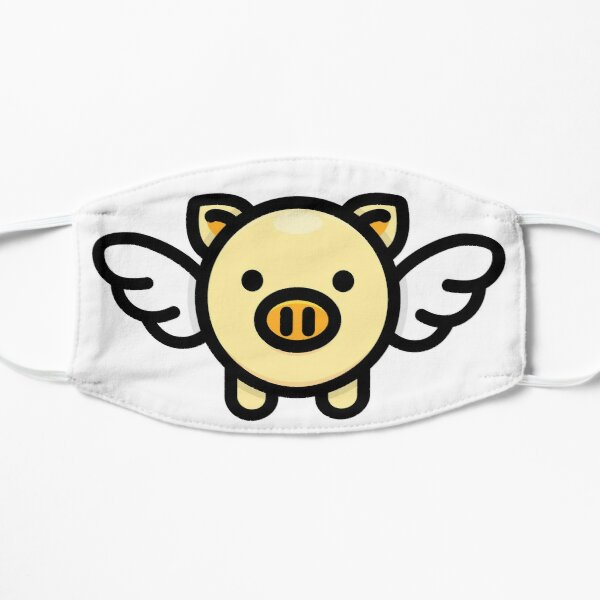 When Pigs Fly: Yellow Small Mask