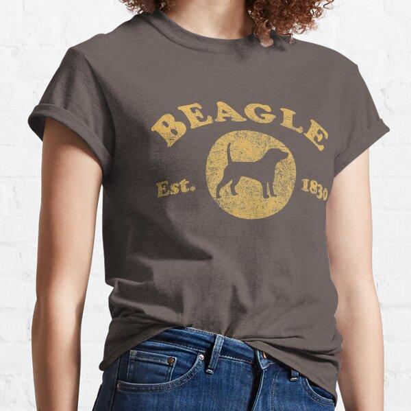 Vintage Beagle Est. 1830 T-Shirt Classic T-Shirt