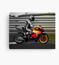 Casey Stoner 2011 - Making history Canvas Print
