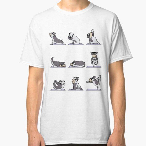 Miniature Schnauzer Yoga Classic T-Shirt