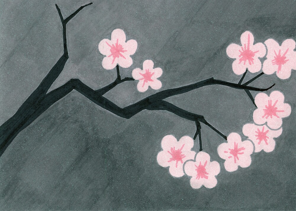 Cherry Blossoms by Jacki Temple
