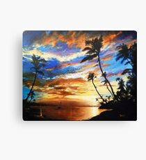 Marooned Canvas Print