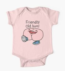 """Willy Bum Bum - """"Friendly Old Bum!"""" Kids Clothes"""