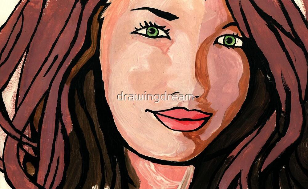 Pop art girl by drawingdream