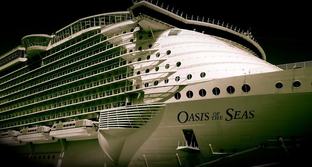 Royal Carribean Oasis Ship by jraz16