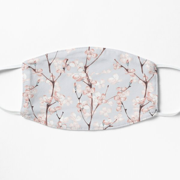 Blossom. Watercolor seamless floral pattern Flat Mask