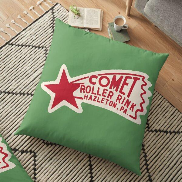 Comet Roller Rink Floor Pillow