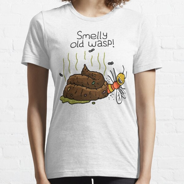 """Willy Bum Bum - """"Smelly Old Wasp!"""" Essential T-Shirt"""