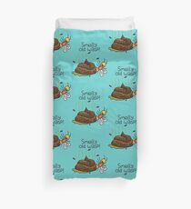"""Willy Bum Bum - """"Smelly Old Wasp!"""" Duvet Cover"""