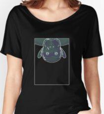 Chimp Mauve Green C Women's Relaxed Fit T-Shirt