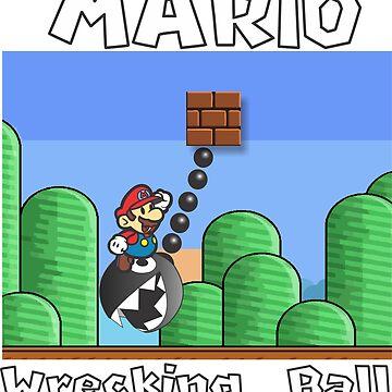 Wrecking Ball Mario by crazyowl