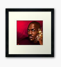 """MICHAEL JORDAN """"HIS ROYAL AIRNESS"""" Framed Print"""