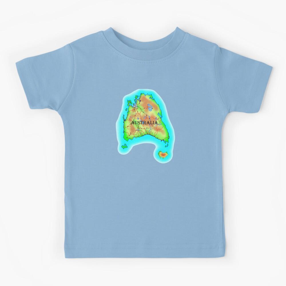 Tasmania's Australia Kids T-Shirt