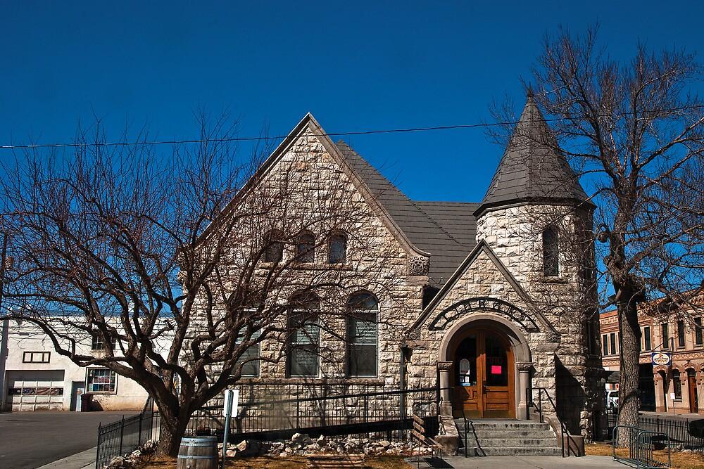 The Dillon (Montana, USA) Public Library by Bryan D. Spellman