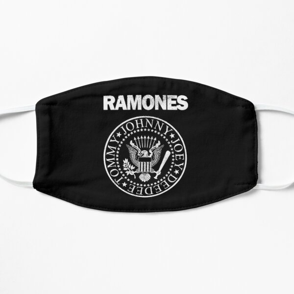 Ramones (white distressed design) Mask