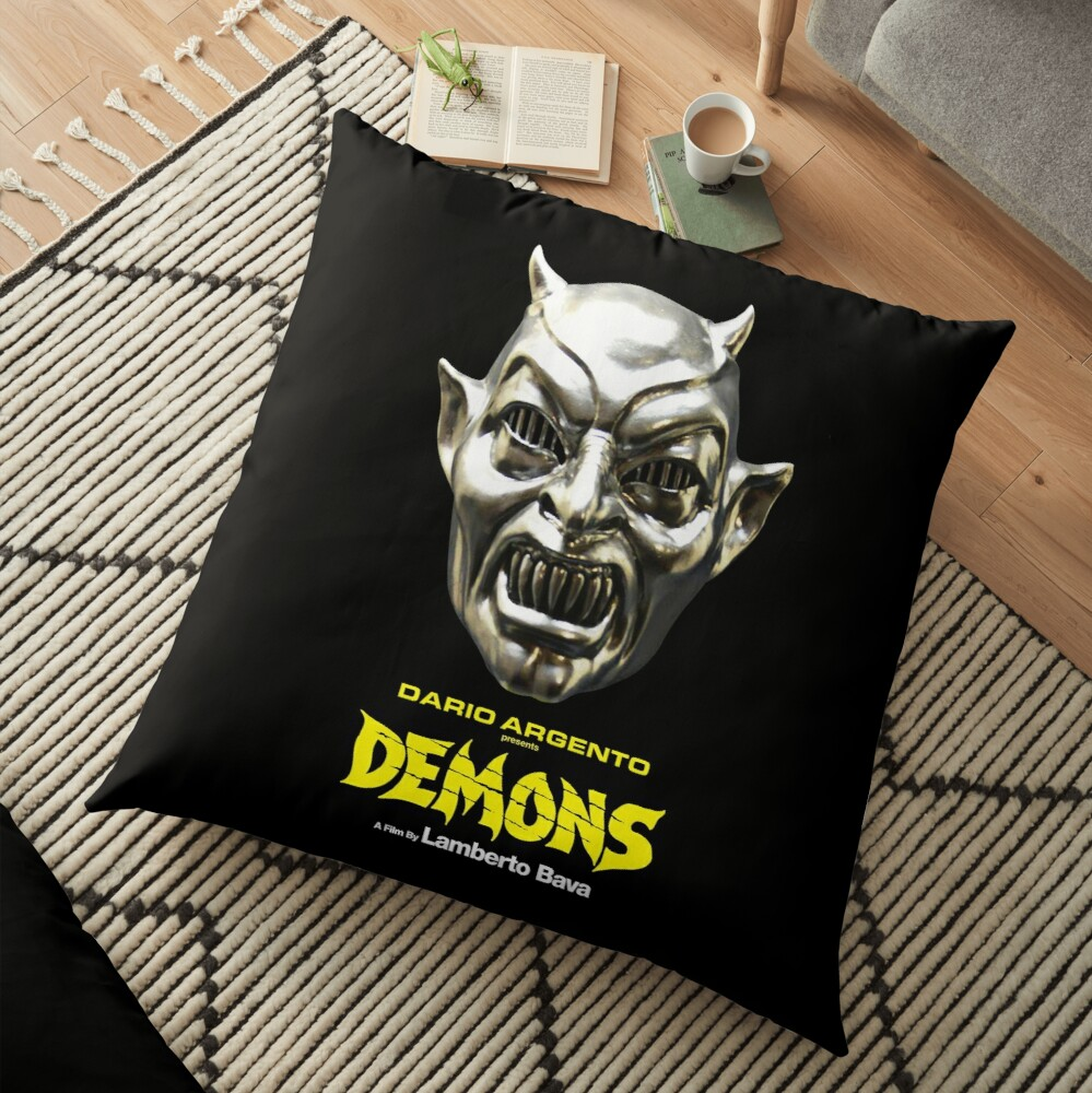 Demons - Mask Floor Pillow
