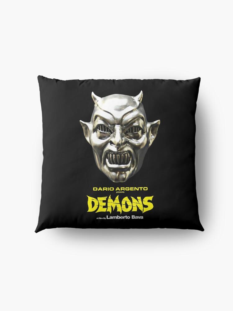 Alternate view of Demons - Mask Floor Pillow