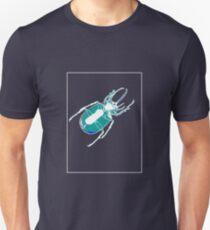 Beetle Aqua Blue A Unisex T-Shirt
