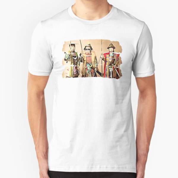 3 Samurai Slim Fit T-Shirt