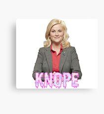 "Leslie ""Knope"" Canvas Print"