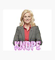 "Leslie ""Knope"" Photographic Print"