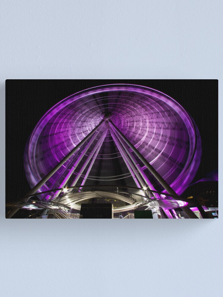 Alternate view of The Brisbane Wheel Canvas Print