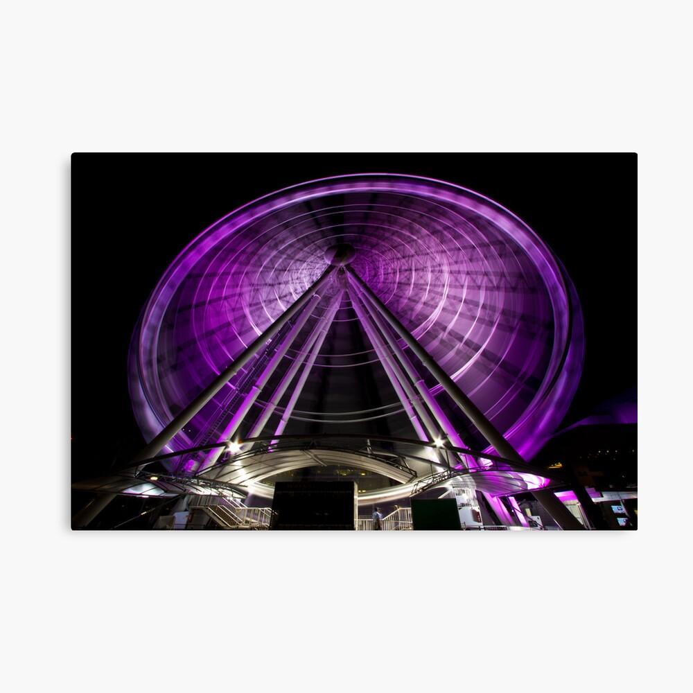 The Brisbane Wheel Canvas Print