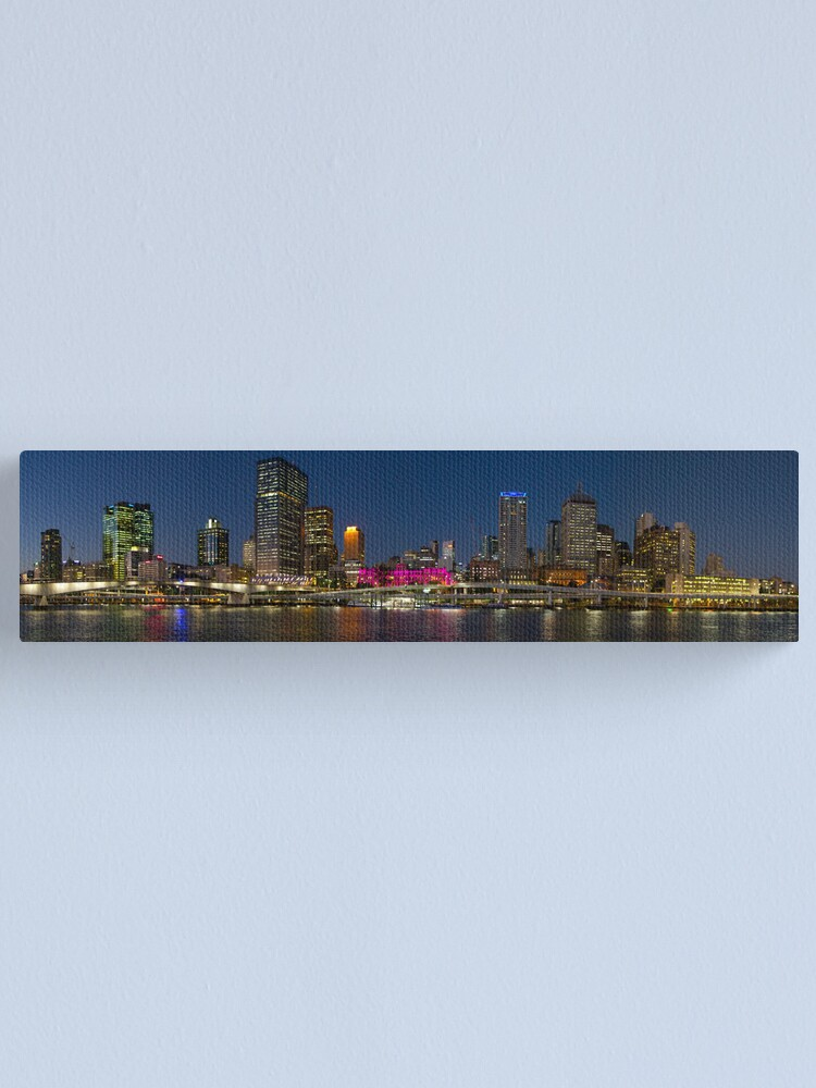 Alternate view of Purple Brisbane Canvas Print