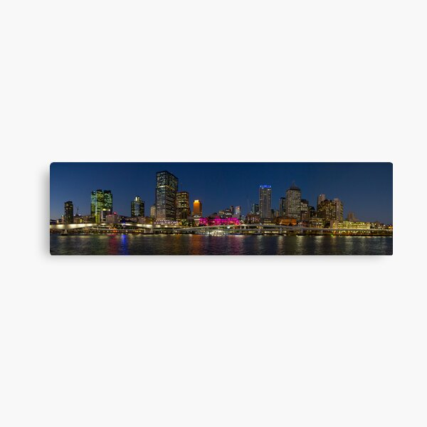 Purple Brisbane Canvas Print