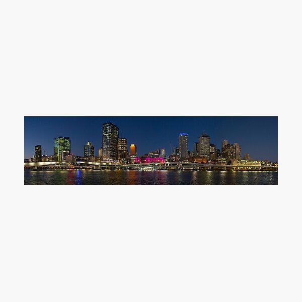 Purple Brisbane Photographic Print