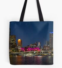 Purple Brisbane Tote Bag